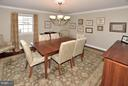DINING ROOM - 1121 CLINCH RD, HERNDON