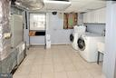 LAUNDRY ROOM - 1121 CLINCH RD, HERNDON
