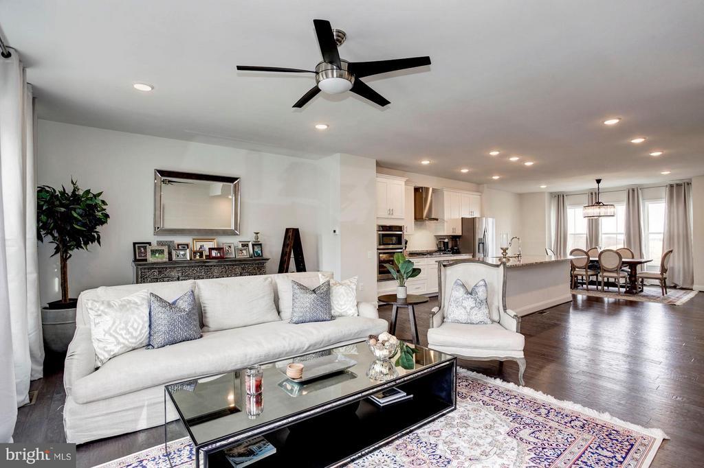 Open Floor Plan - 1729 COTTONWOOD GROVE RD, DUMFRIES