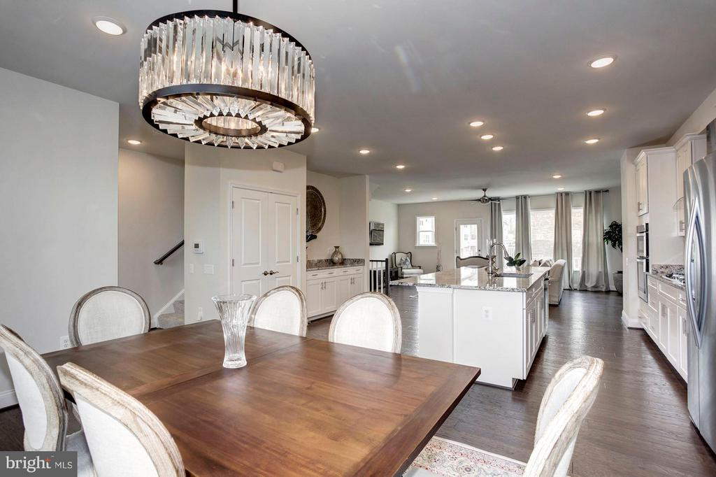 Dining Area - 1729 COTTONWOOD GROVE RD, DUMFRIES