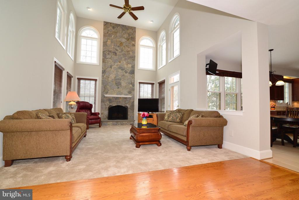 Main Level Family Room - 14405 VIRGINIA CHASE CT, CENTREVILLE