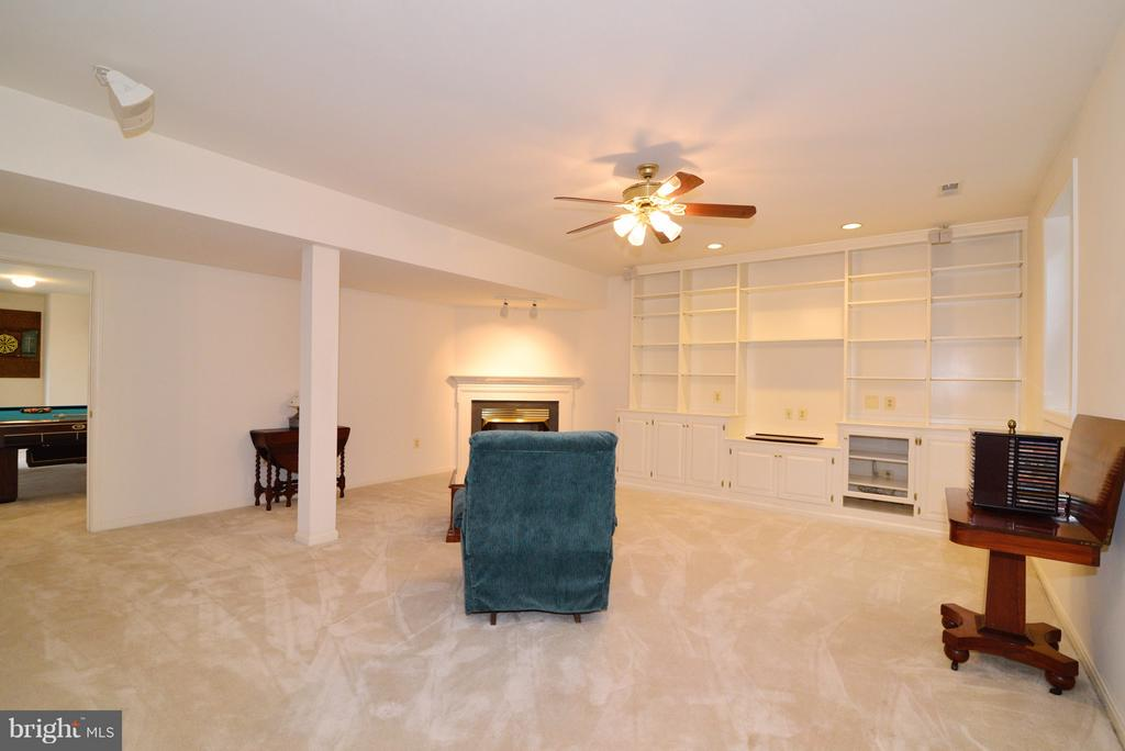 Lower Level Family Room - 14405 VIRGINIA CHASE CT, CENTREVILLE