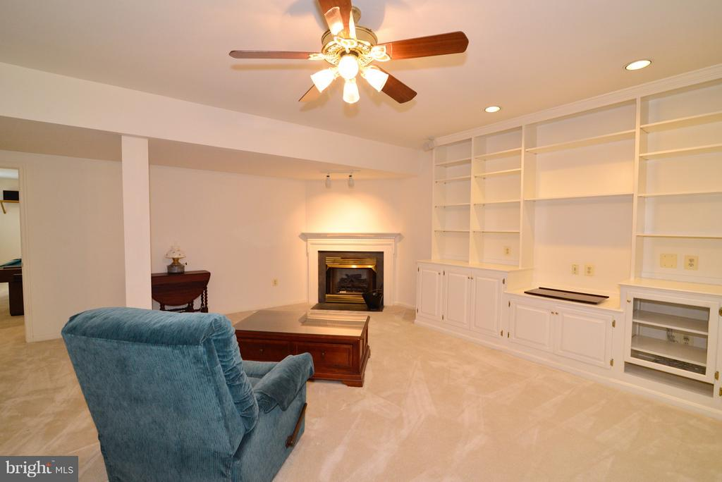 LL FR with Built-Ins - 14405 VIRGINIA CHASE CT, CENTREVILLE