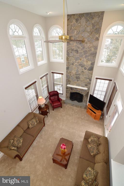 Gorgeous Two Story Fireplace! - 14405 VIRGINIA CHASE CT, CENTREVILLE