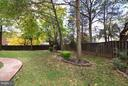 Fully Fenced Rear Yard - 14405 VIRGINIA CHASE CT, CENTREVILLE