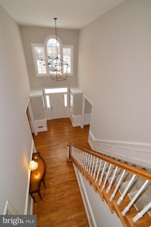 Grand Foyer - 14405 VIRGINIA CHASE CT, CENTREVILLE