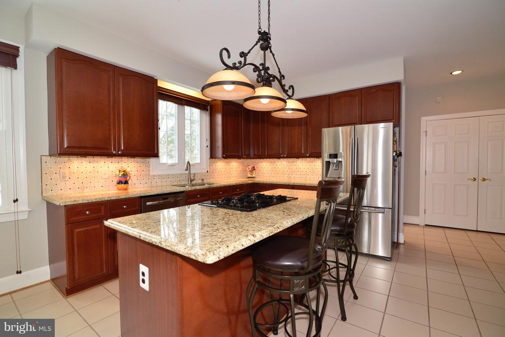 Gourmet Kitchen! - 14405 VIRGINIA CHASE CT, CENTREVILLE