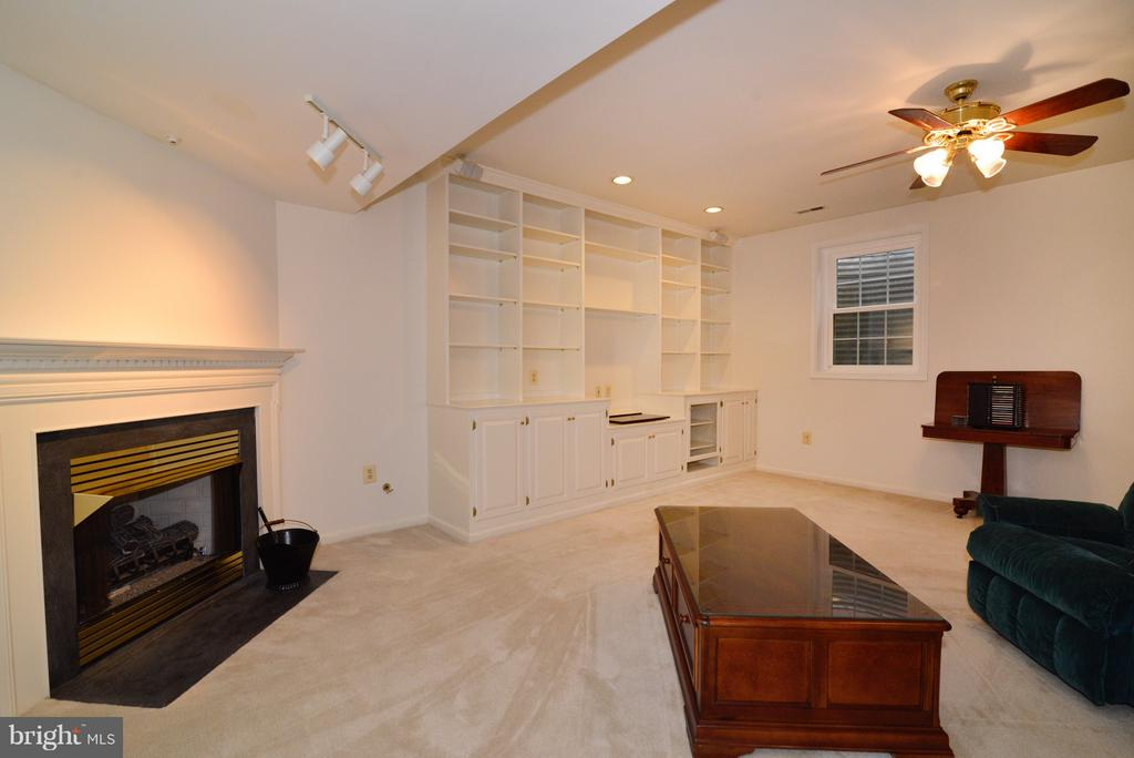 LL Fireplace - 14405 VIRGINIA CHASE CT, CENTREVILLE