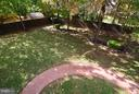 Private Rear Yard - 14405 VIRGINIA CHASE CT, CENTREVILLE