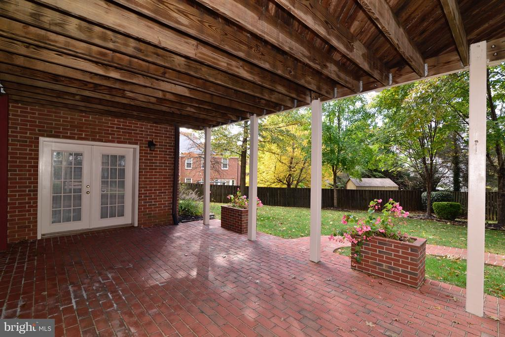 Rear LL Patio - 14405 VIRGINIA CHASE CT, CENTREVILLE