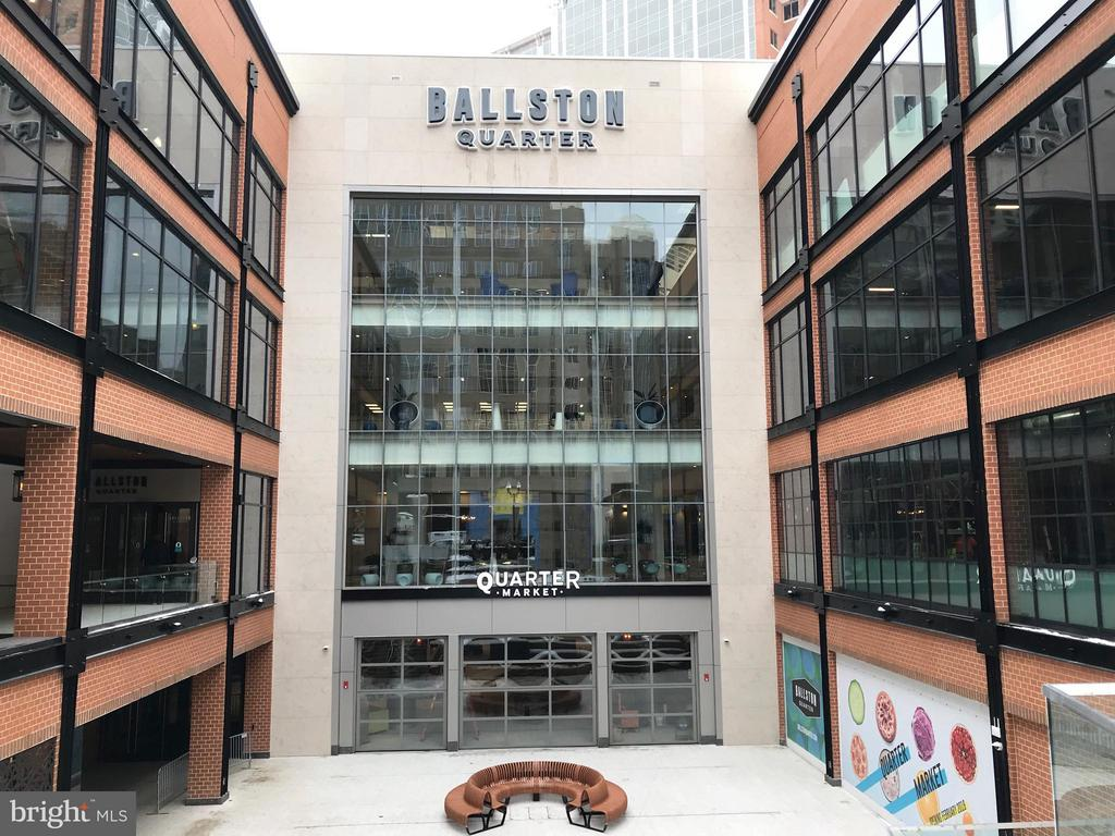 Welcome to the Redeveloped Ballston Quarter! - 1001 N RANDOLPH ST #106, ARLINGTON