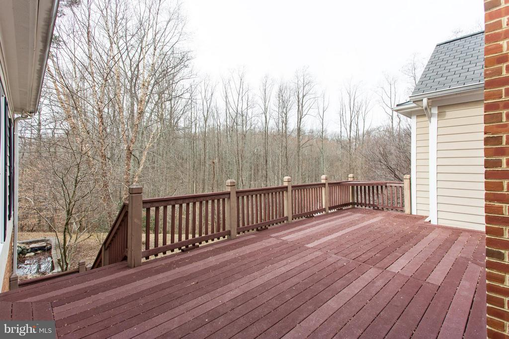 Trex deck off family room. - 55 AZTEC DR, STAFFORD