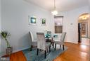 Dining room - 920 3RD ST NE, WASHINGTON
