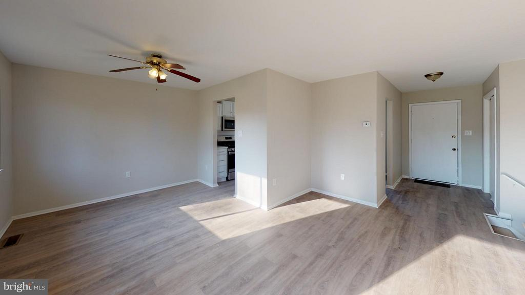 Living Room & Dining Room View - 8807 CRANDALL RD, LANHAM