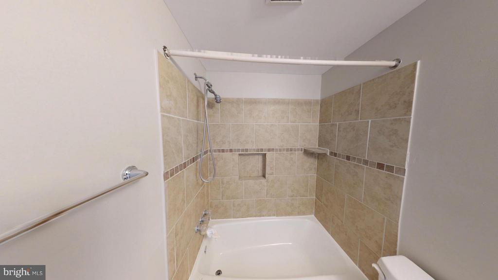 Updated Bath - 8807 CRANDALL RD, LANHAM
