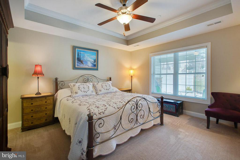 Master Bdrm, tray ceiling ~ that's a king size bed - 9727 COBBLE STONE CT, HAGERSTOWN