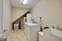 DREAM laundry rm w/ wash sink & storage - 9727 COBBLE STONE CT, HAGERSTOWN
