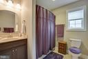 Full Hall Bath w/ tub/shower combo - 9727 COBBLE STONE CT, HAGERSTOWN