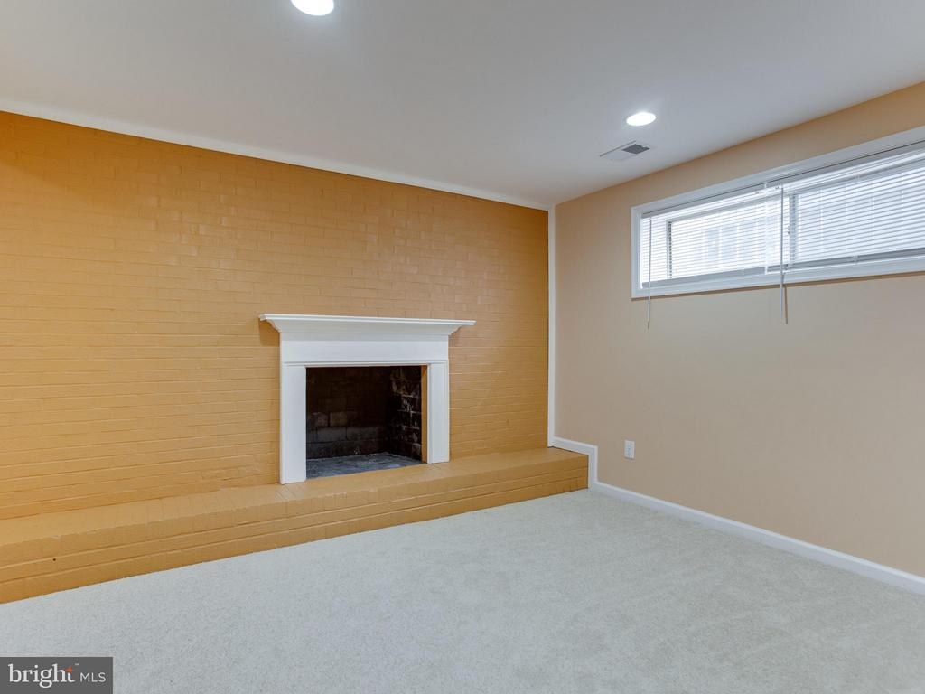 Basement-Rec Room - 4203 BLACKSNAKE DR, TEMPLE HILLS