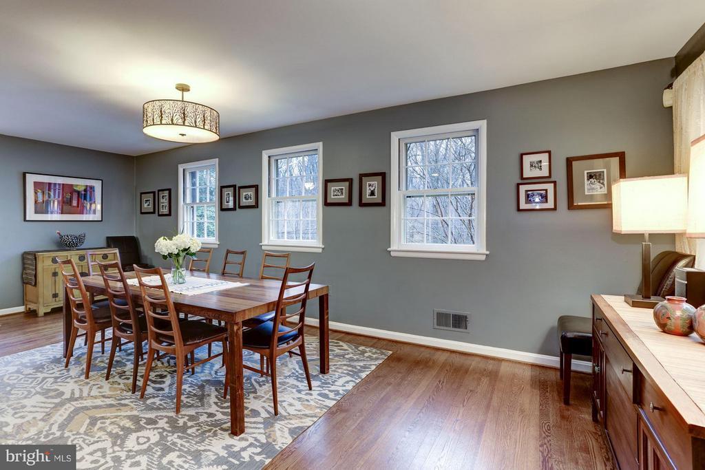 Dining room - 5704 OREGON AVE NW, WASHINGTON