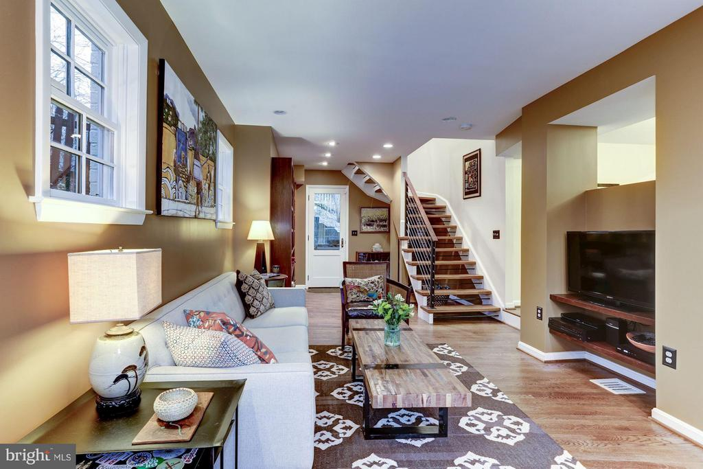 Living room door to