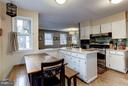 Kitchen with table space - 5704 OREGON AVE NW, WASHINGTON
