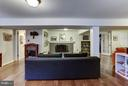 Lower level family room seating area - 5704 OREGON AVE NW, WASHINGTON
