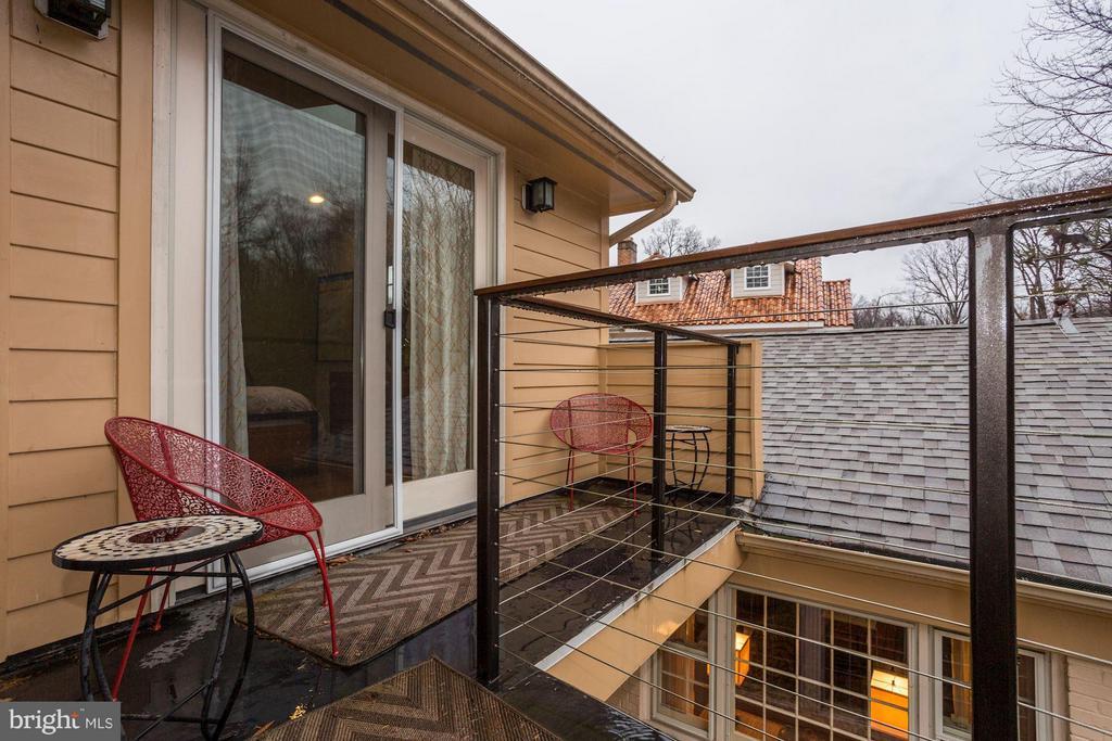 Wrap around master balcony - 5704 OREGON AVE NW, WASHINGTON
