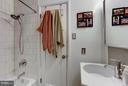 Main level full hall bath - 5704 OREGON AVE NW, WASHINGTON