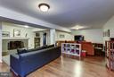 Lower level family room - 5704 OREGON AVE NW, WASHINGTON