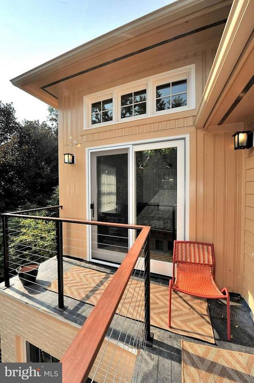 Master bedroom balcony - 5704 OREGON AVE NW, WASHINGTON