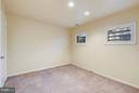 3RD BEDROOM WITH NEUTRAL CARPET - 10419 ENGLISHMAN DR #25, ROCKVILLE