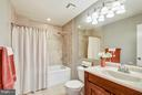 UPDATED MASTER BATH W/SOAKING TUB/SHOWER - 10419 ENGLISHMAN DR #25, ROCKVILLE