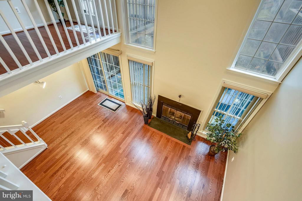 VIEW FROM DINING ROOM - 10419 ENGLISHMAN DR #25, ROCKVILLE