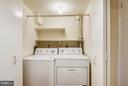 LOWER LEVEL LAUNDRY - 10419 ENGLISHMAN DR #25, ROCKVILLE