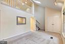 MASTER BEDROOM W/ NEUTRAL CARPET & STEPS TO LOFT - 10419 ENGLISHMAN DR #25, ROCKVILLE