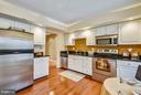 SUNNY UPDATED KITCHEN - 10419 ENGLISHMAN DR #25, ROCKVILLE