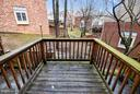 DECK OFF MAIN LEVEL.! - 10419 ENGLISHMAN DR #25, ROCKVILLE