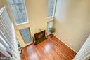 LOWER LEVEL LIVING ROOM/GREAT VIEW FROM ABOVE - 10419 ENGLISHMAN DR #25, ROCKVILLE