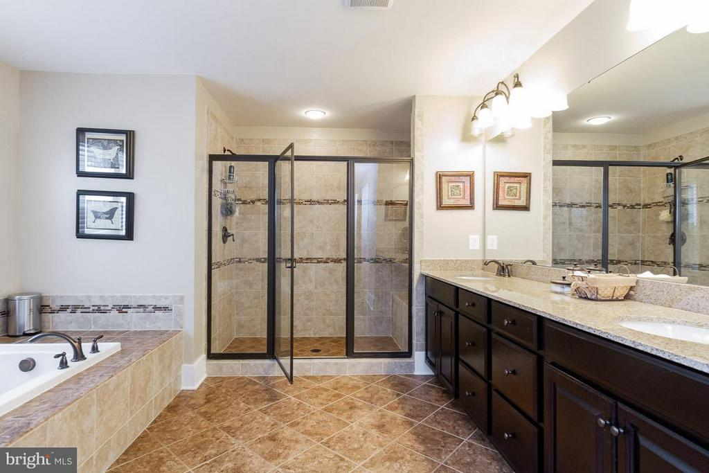 Luxury Master Bath - 16964 TAKEAWAY LN, DUMFRIES