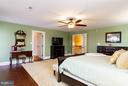 Master Bedroom - 16964 TAKEAWAY LN, DUMFRIES