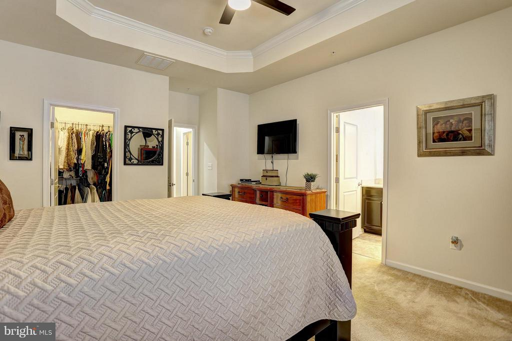 Master Bedroom - 5306 SMITHS COVE LN, GREENBELT