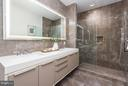 Master Bath - 1427 RHODE ISLAND AVE NW #301, WASHINGTON