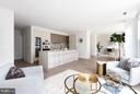 Spacious Kitchen - 1427 RHODE ISLAND AVE NW #301, WASHINGTON