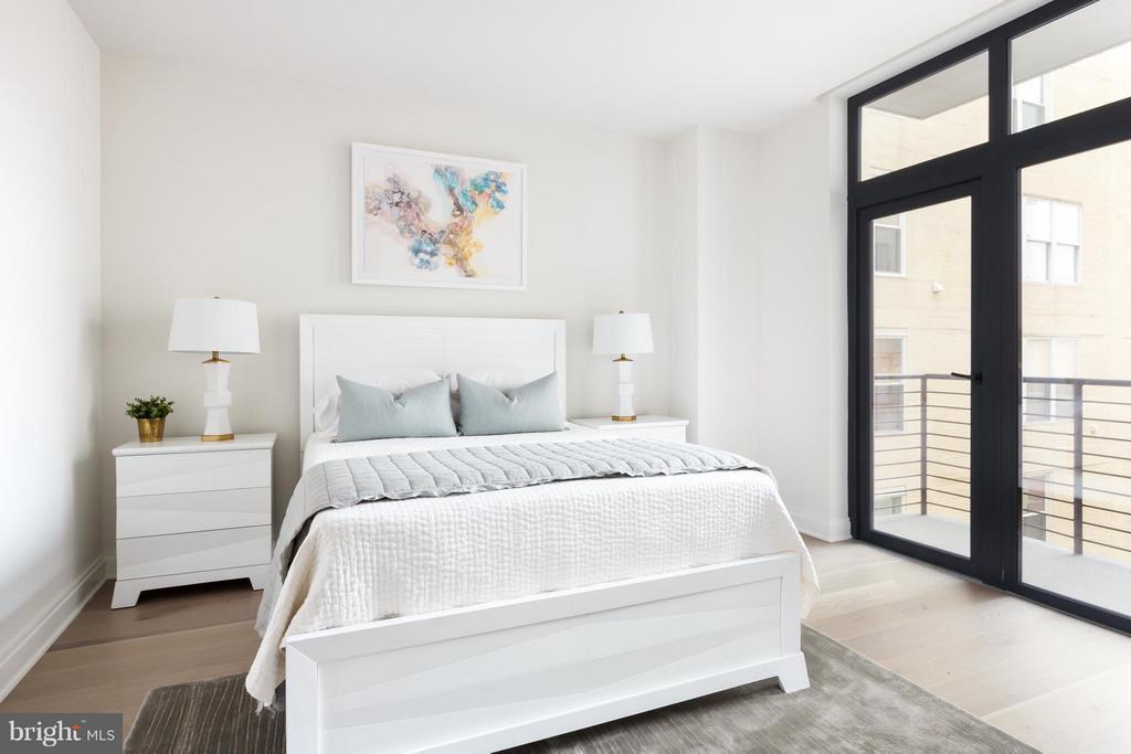 Guest Bedroom - 1427 RHODE ISLAND AVE NW #301, WASHINGTON