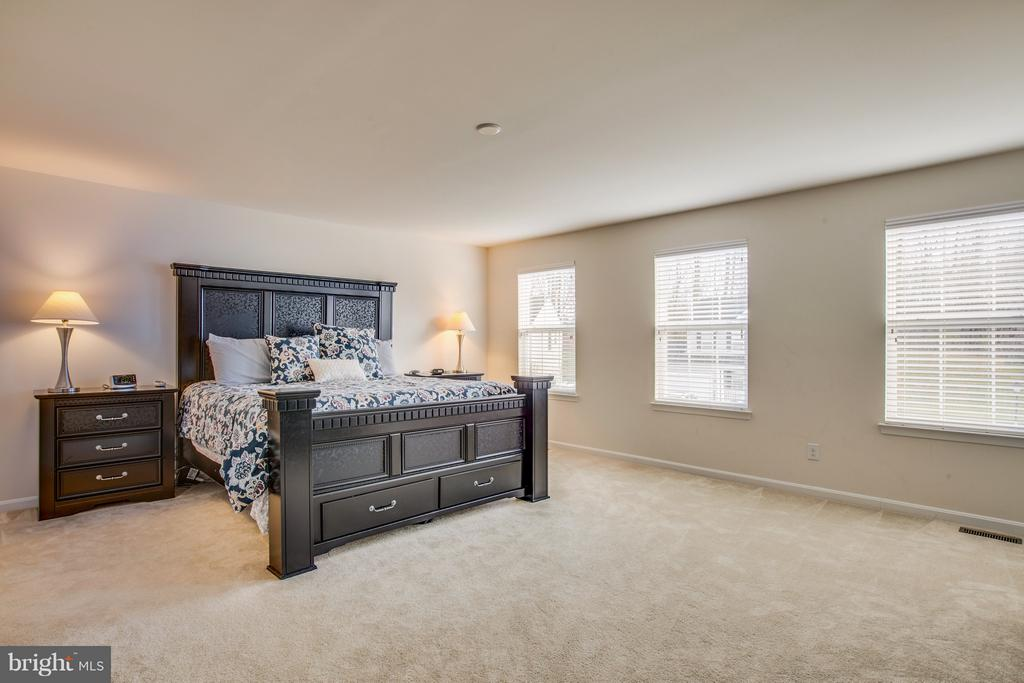 Upper Level Master Bedroom - 54 COLEMANS MILL DR, FREDERICKSBURG