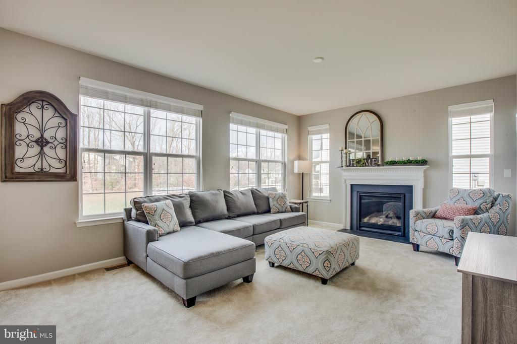 Cozy up by the fireplace! - 54 COLEMANS MILL DR, FREDERICKSBURG