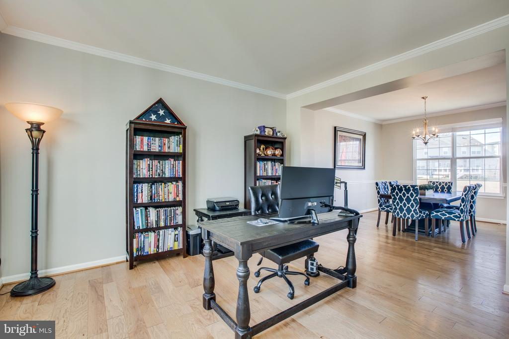 Formal living room or office space - 54 COLEMANS MILL DR, FREDERICKSBURG