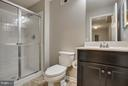 Lower Level Bathroom - 54 COLEMANS MILL DR, FREDERICKSBURG