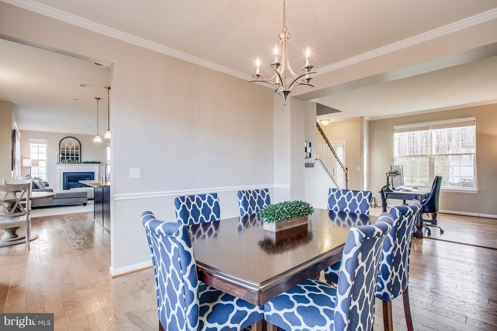 Formal/separate dining room. - 54 COLEMANS MILL DR, FREDERICKSBURG